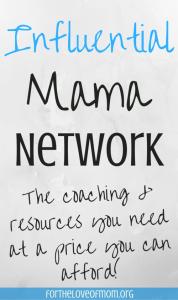 influential mama network by Inez Bayardo