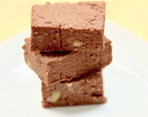 Fertility superfood lentil walnut fudge fertility friendly desserts