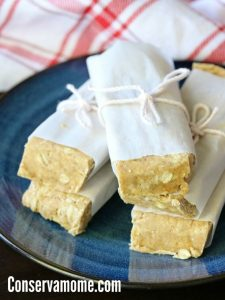 fertility friendly desserts, fertility diet Homemade protein bars