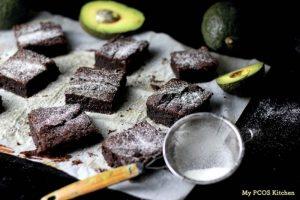 Keto fertility diet avocado brownies
