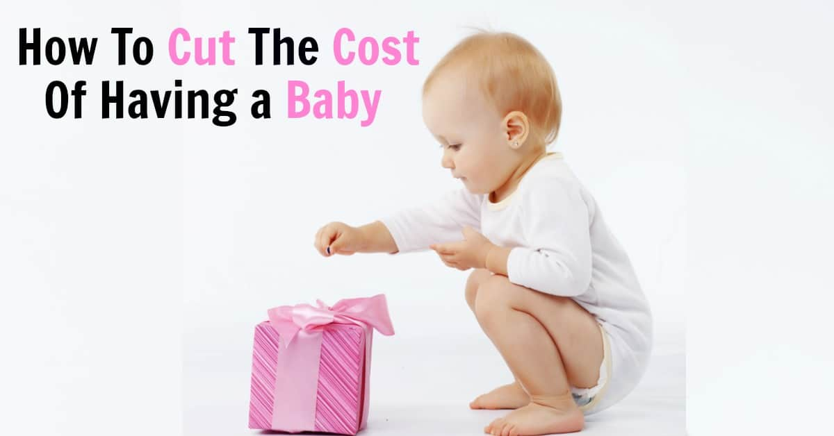 Save money with these tips that will show you how to cut the cost of having a baby. It's easy to get free baby stuff and stick to your baby budget with these ideas.