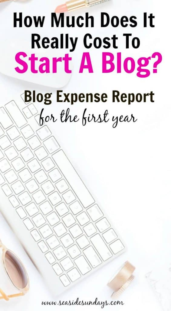 How much does it really cost to start a blog She lays out exactly how much it costs to start a blog and make money blogging. She started her blog 1 year ago is and making a good income from it. Learn what she wasted money on and her best ROI for the blog.