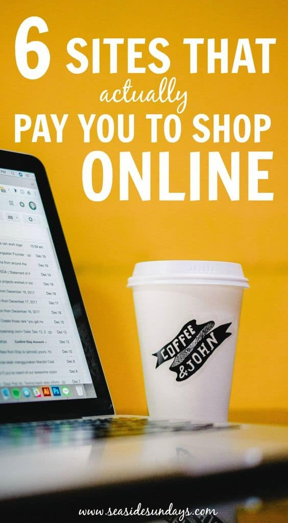 Get paid to shop and make money with these great websites that will help you save money on your groceries. This guide is great to show you how to use ebates and swagbucks and other cashback sites. I even got $35 FREE just for joining!