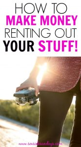 This is such an AWESOME idea! Make money renting out your stuff online! You can rent anything at all from purses to drones! People are making second incomes renting out their unwanted gear!