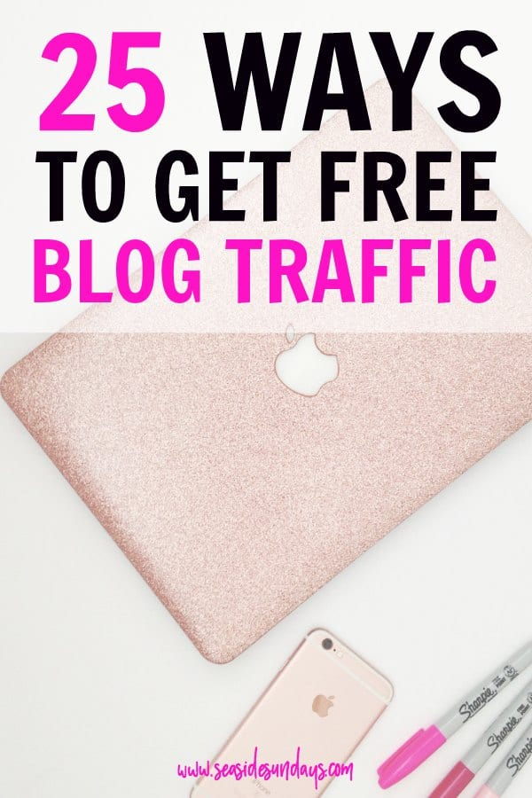 Increase your blog traffic with these 25 totally free places to promote your blog. Blog post sharing sites that you can submit your site for free and grow your audience. Increase your site traffic from social media and search engines with these awesome blogging tips and tricks.