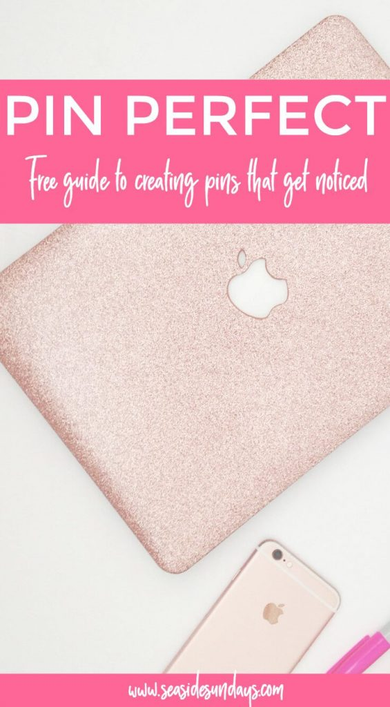 Free guide to Pinterest pins! Grow your blog traffic and get your pins noticed with this free guide to creating the perfect pin for Pinterest. Great for bloggers or brands looking to grow their Pinterest traffic.