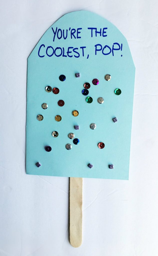 Easy Father S Day Popsicle Stick Craft For Preschoolers