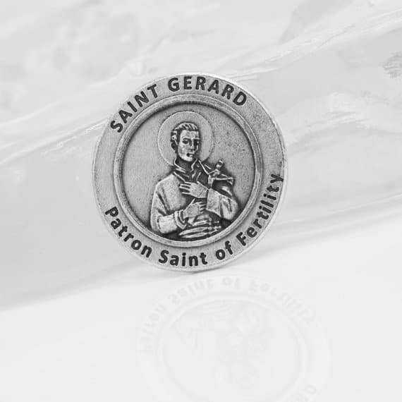 gift ideas for a friend struggling with infertility - Saint Gerard - Patron saint of fertility