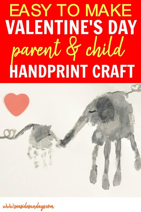How To Make A Super Cute Handprint Craft For Valentine S Day