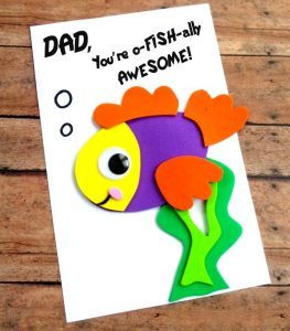 Father's Day Ideas - Fish card