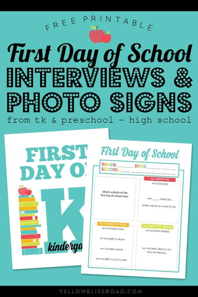 graphic relating to Free Printable Templates for 1st Day of School Signs for Boys identify Free of charge Printable 1st Working day Of College or university Signs or symptoms For All Grades