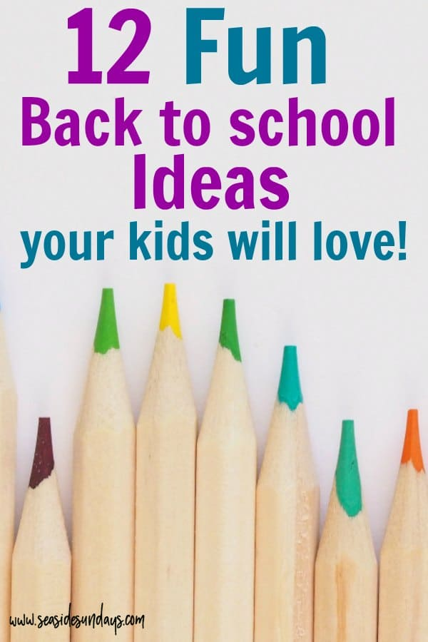 back to school traditions for kids! Back to school traditions for kids! FUN traditions and ideas to make the first day of school extra special. Great for all ages from kindergarten to grade 12. 1st Day of School Traditions for Back to School! Tips and Tricks to Celebrate the NEW School year for kids! #backtoschool #school #fall #backtoschoolthoughts
