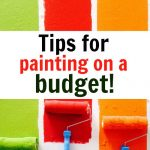 10 Tips For Painting On A Budget & Saving Money On Your Reno