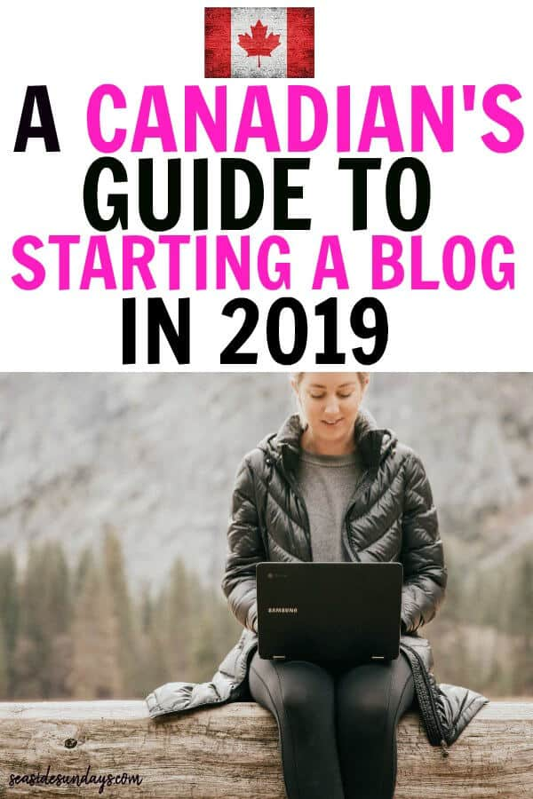 How to Start a Blog and make money IN 2019 - FREE TUTORIAL for Canadians! Tips and step by step guide to starting a blog in Canada and all the things you need to know to start making money ASAP. This guide is packed with blogging tips, affiliate marketing tips and ideas for making money online with your blog.