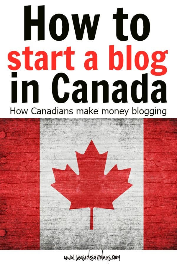How to Start a Blog and make money - FREE TUTORIAL for Canadians! Tips and step by step guide to starting a blog in Canada and all the things you need to know to start making money ASAP. This guide is packed with blogging tips, affiliate marketing tips and ideas for making money online with your blog.