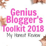 Genius Blogger's Toolkit Review - what is the ultimate Bundles toolkit and how can it help you grow your blog traffic, boost your affiliate sales and make more money with your blog. This year's bundle is packed with over 85 resources for less than $100!