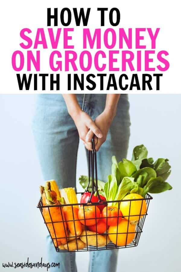 Save money on groceries without coupons by using a food delivery service like Instacart! Instacart will give you back hours of your day and help you stick to your food budget. If you want to save money on groceries in Canada you are in luck because Instacart has arrived in Canada too! Get all the details in this post!