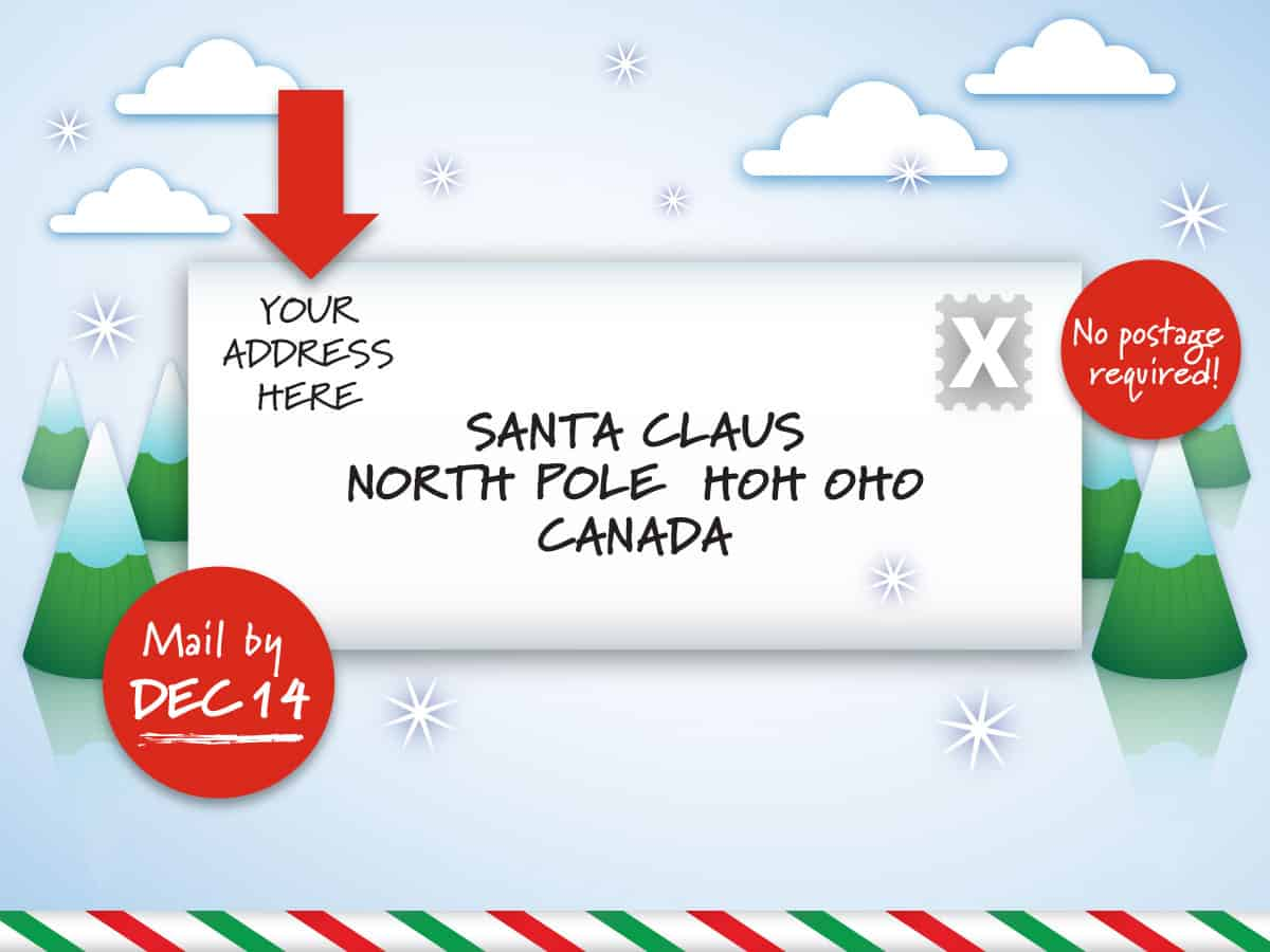 Dear Santa Letter Free Printable Template