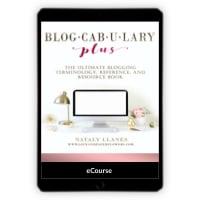 Blogcabulary Plus - Nataly LLanes