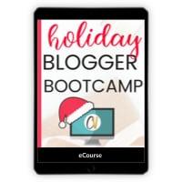 Holiday Blogger Bootcamp - Caroline Vencil