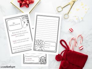 Printable Holiday Planner 2018 - this Christmas planner is packed with tons of great pages for to-do lists and Christmas budget planning. Get the free bonus children's Christmas journal too