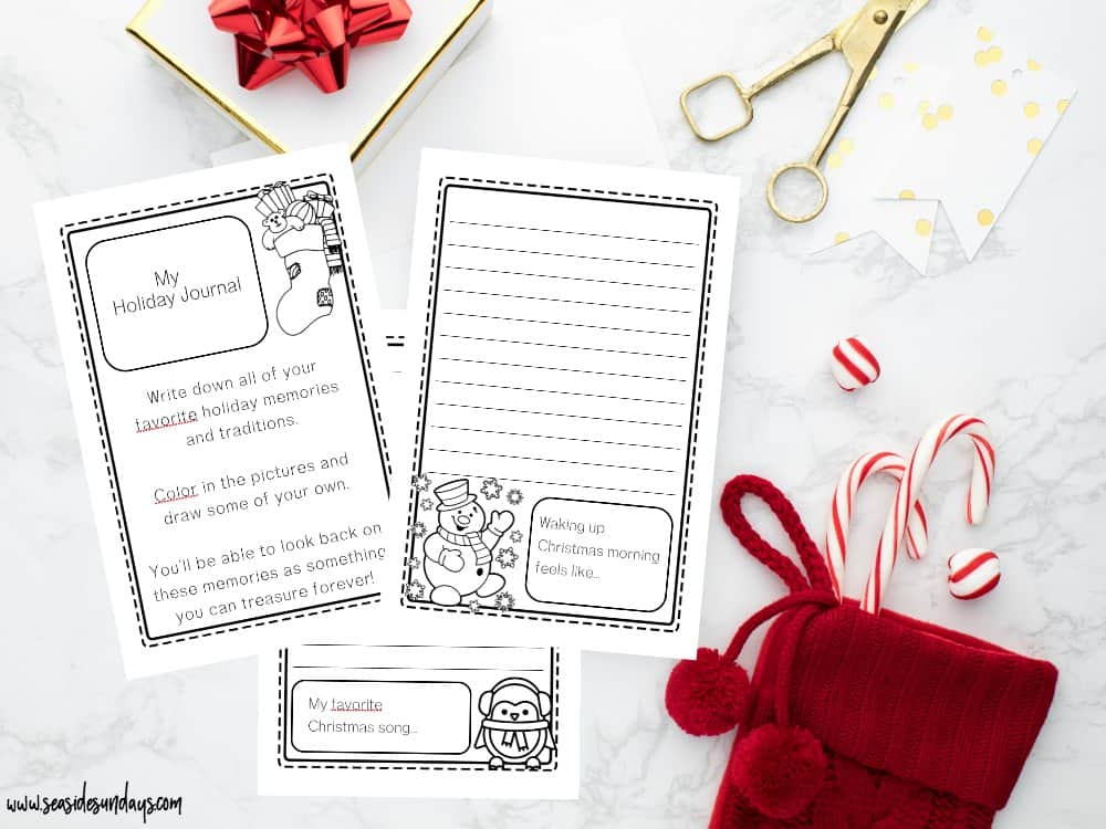 Printable Holiday Planner 2018 - this Christmas planner is packed with tons of great pages for to-do lists and Christmas budget planning. Gte the free bonus children's Christmas journal too