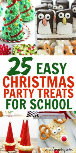 Christmas Treats For School Parties.25 Cute Christmas Snacks For Kids