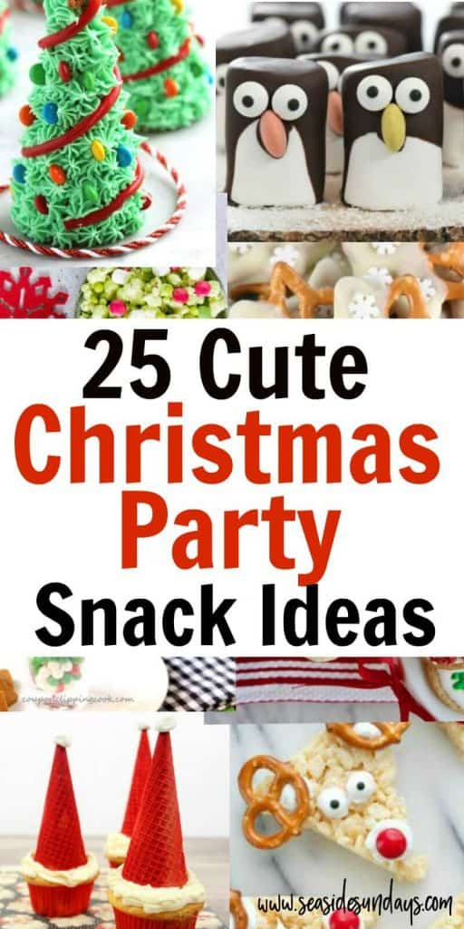 25 Cute Christmas Snacks For Kids