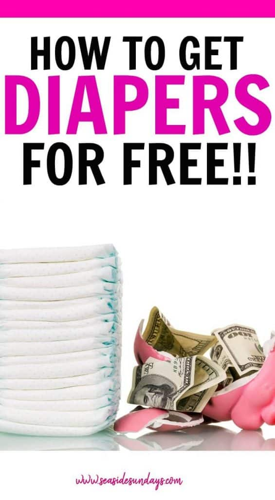 Save money on diapers and get free baby stuff in this info packed post! Learn how to get free diapers and save money with these awesome tricks for cutting the cost of baby. Where to get free baby samples and free diaper samples by mail plus the best places to find coupons for diapers. This post is packed with information for new moms who need to save money and stick to a budget. Also includes resources for free diapers for low income moms.