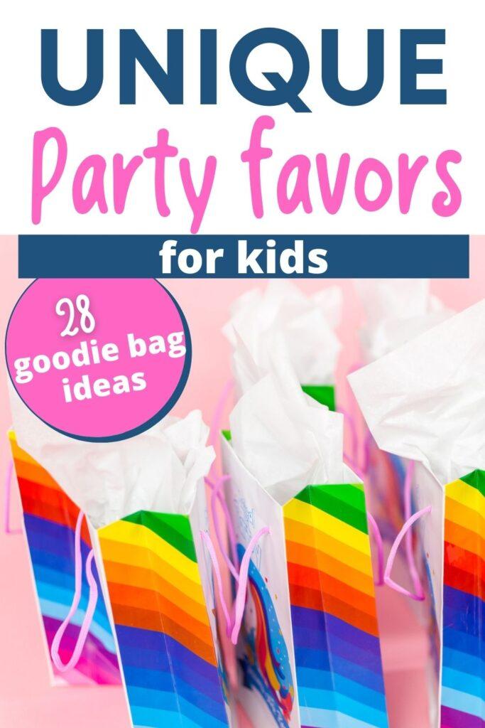 unique goody bag ideas