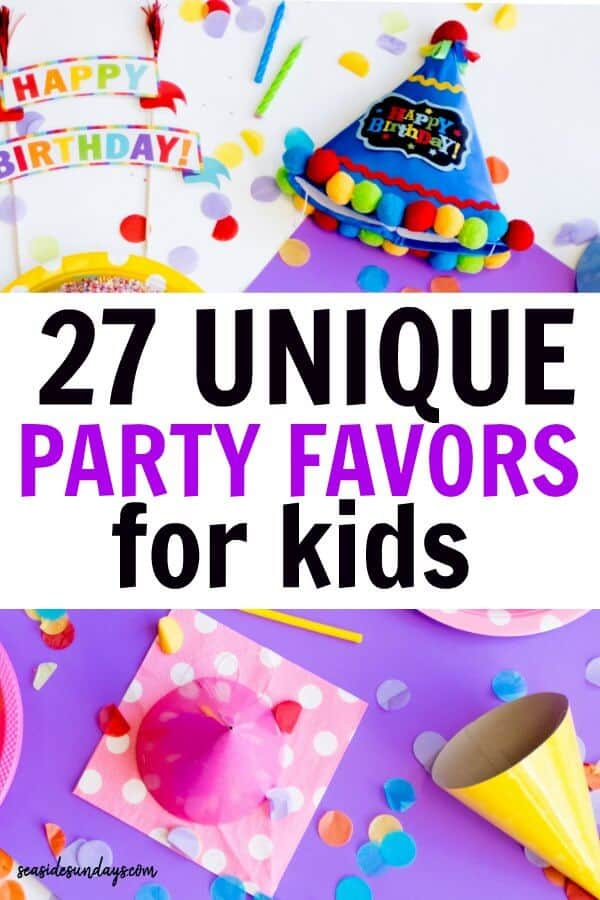 Unique Goodie Bag Ideas For Birthday Parties I LOVE These Cheap And Fun Party Favors