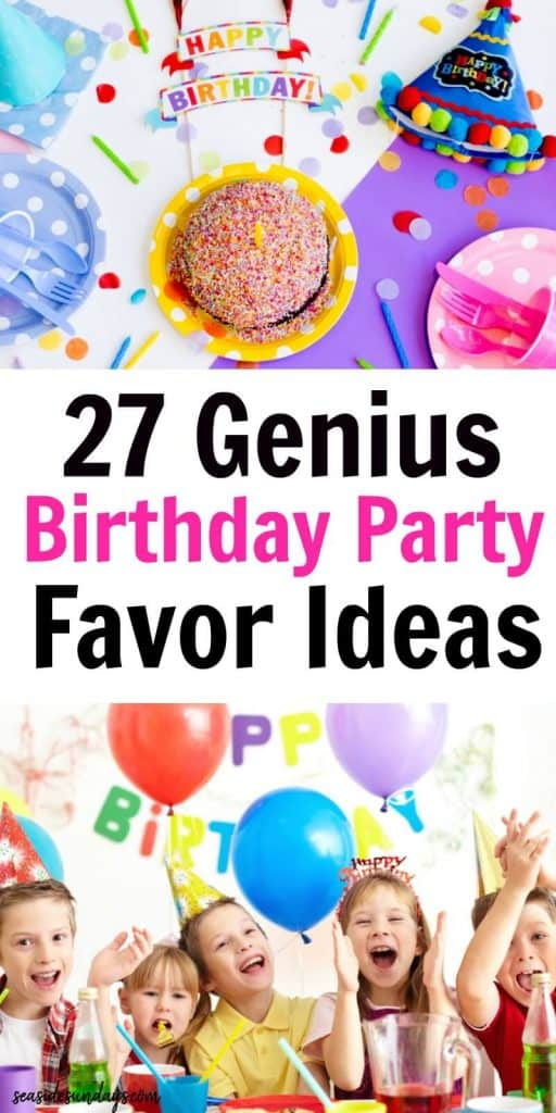 27 Unique Goodie Bag Ideas For Birthday Parties