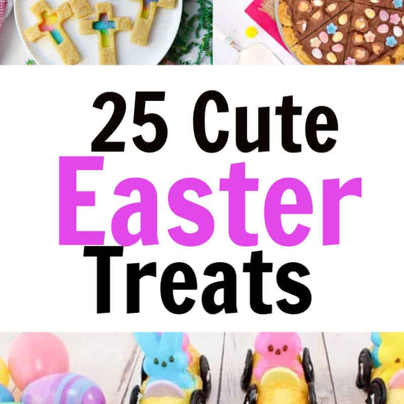 Cute Easter snacks for preschoolers! Tons of cute Easter ideas for school parties, Sunday school Easter events and family gatherings. If you are looking for cute Easter desserts and treats, this list is packed with great options including gluten-free, dairy-free and healthy Easter snacks for kids.