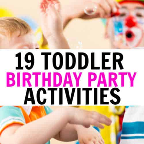19 Birthday Party Activities For 2 Year Olds