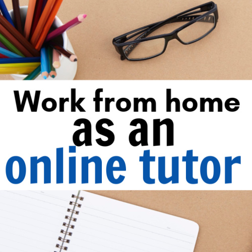 side hustle for moms - online tutoring