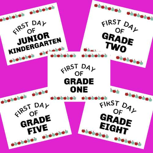 image regarding Free Printable First Day of Kindergarten Sign named 1st Working day Of Kindergarten Indicator (Free of charge Down load)