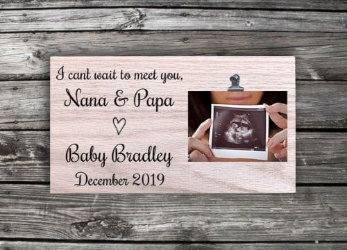 how to announce pregnancy with ultrasound