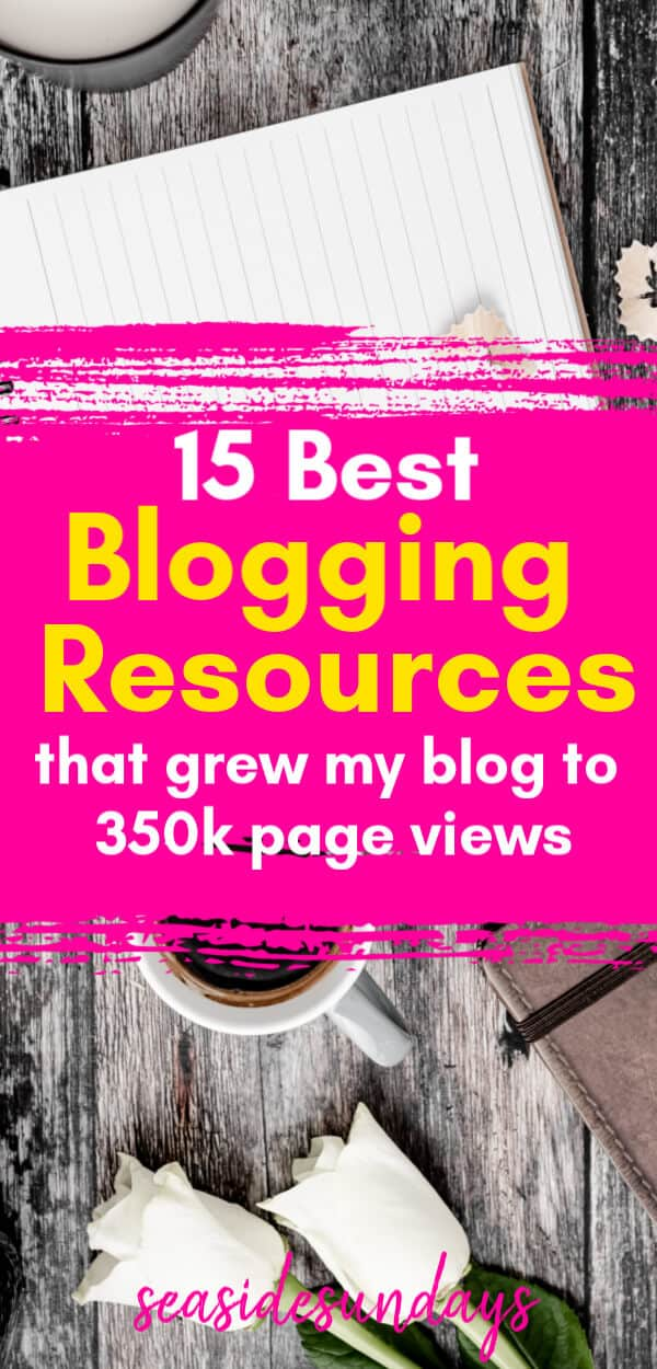 Blogging resources that helped me grow my blog