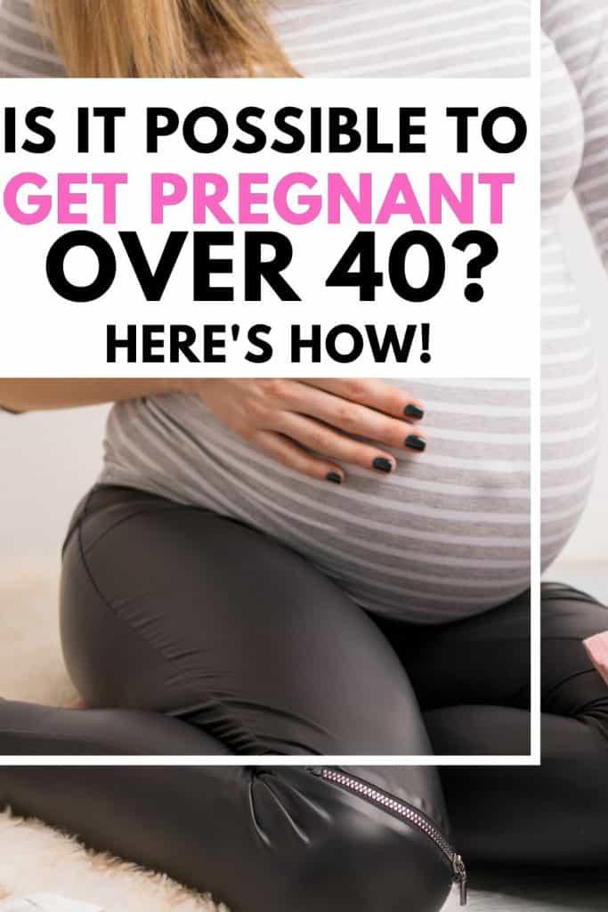 pregnant over 40