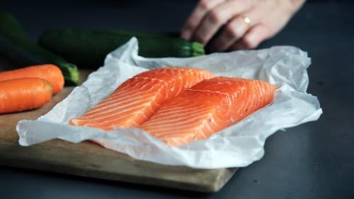 Foods to help implantation - salmon