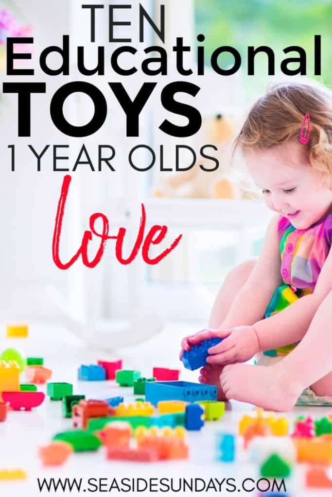 The best learning toys for 1 year old children