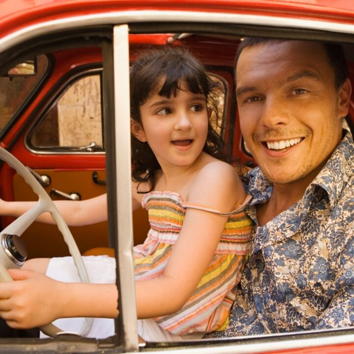 daddy daughter drive in the country for a father daughter day idea