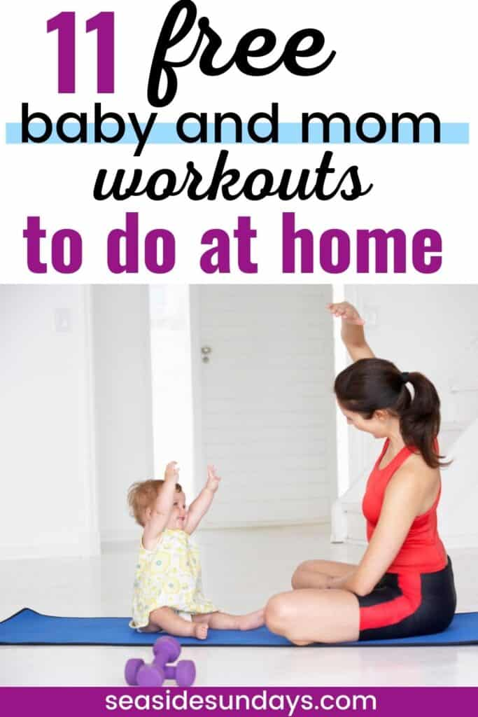 Baby and me workouts on Youtube