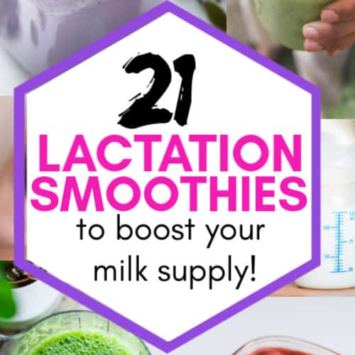 Lactation Smoothies for breastfeeding moms
