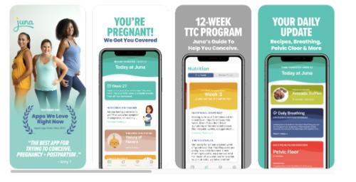 Juna pregnancy app