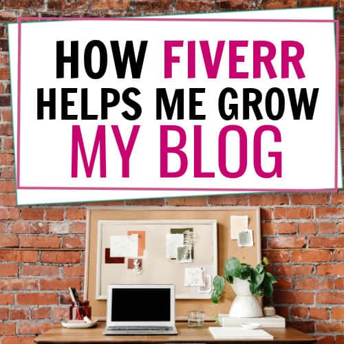 how i use Fiverr to grow my blog