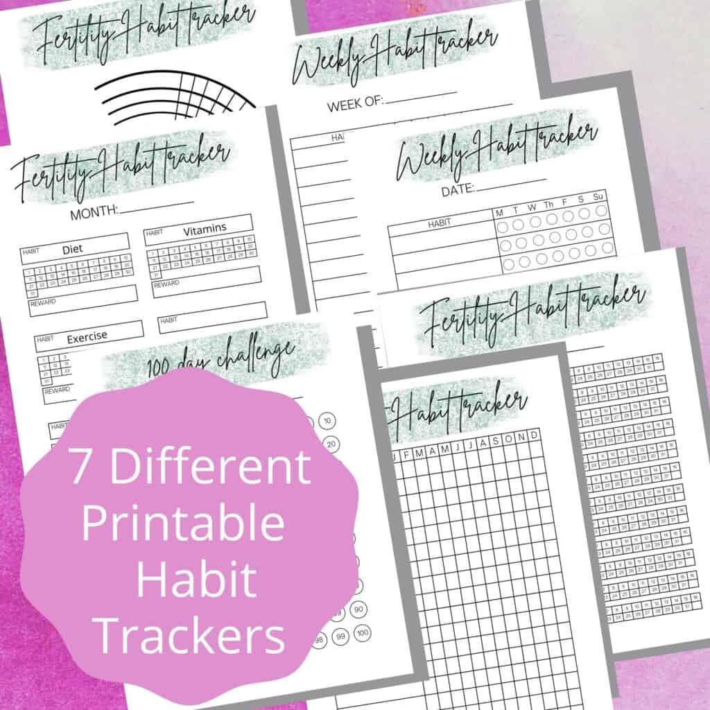 Fertility Habit Trackers
