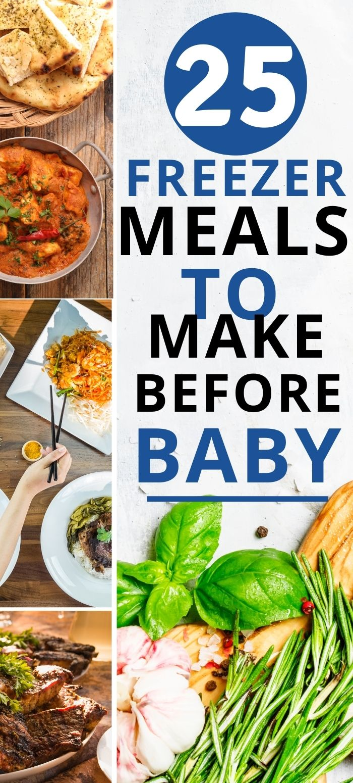 Freezer meals to make before baby